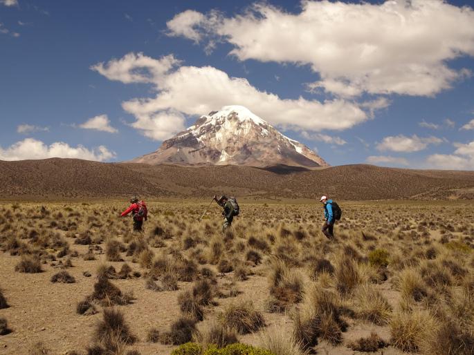 trekking sajama bolivia