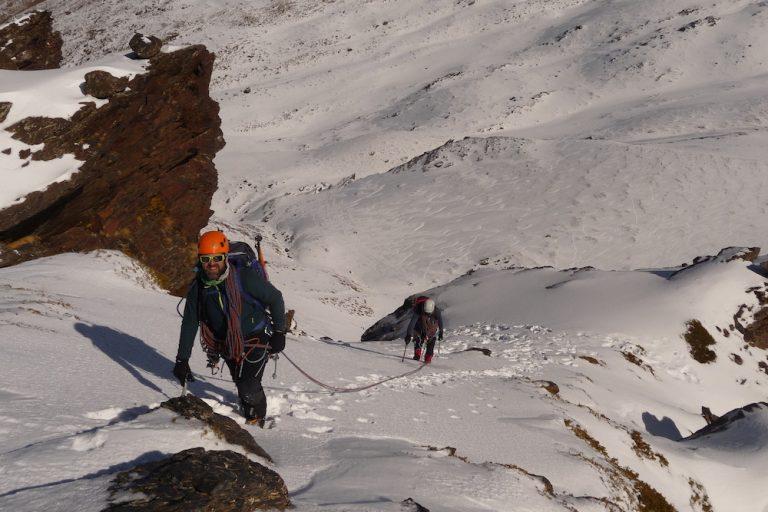 curso alpinismo sierra nevada