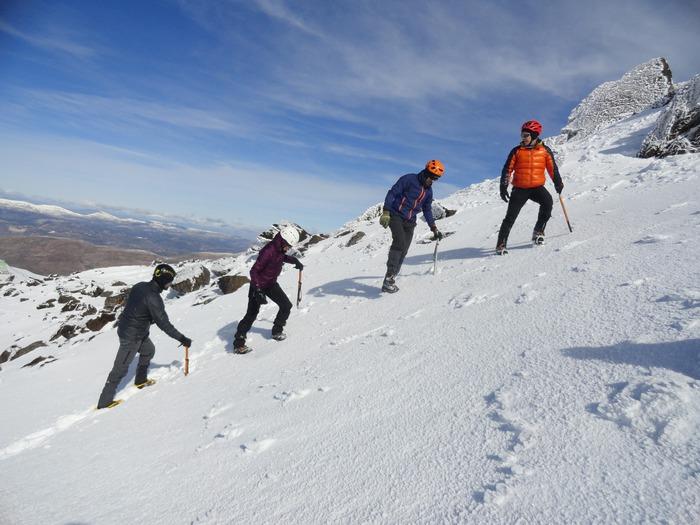 curso alpinismo 1 en Granada