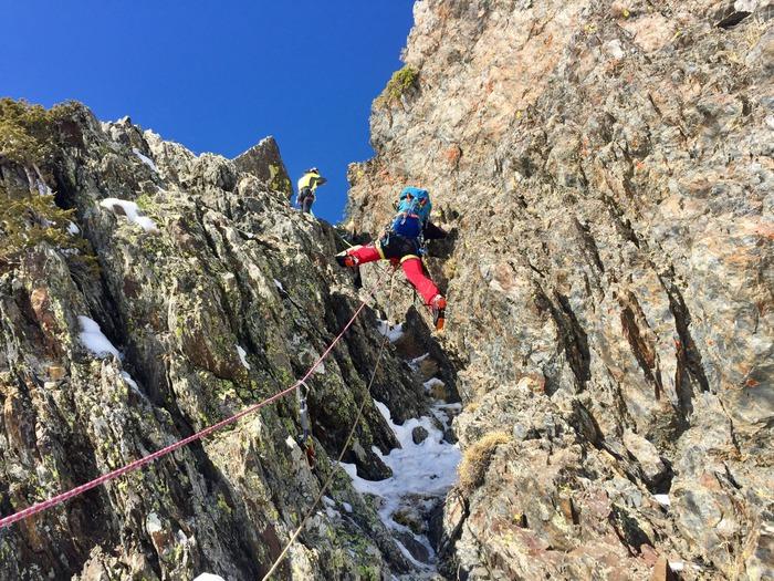 curso de alpinismo avanzado en Granada