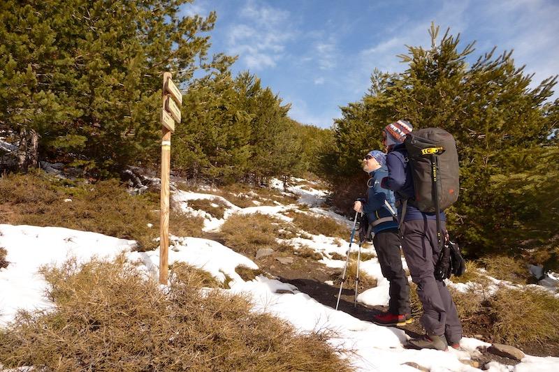 Trekking en la Alpujarra